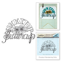 Spellbinders 3D Shading Stamps Tammy Tutterow Collection: Buttercup