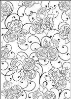 Simply Refined Embossing Folder - Moments to Memories, Contour Plus Embossing Folder (Not Part of the Bundle)