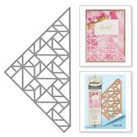 Spellbinders Shapeabilities by Lene Lok - Geo Steps Kaleidoscope