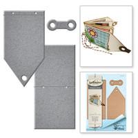 Spellbinders Shapeabilities by Tammy Tutterow - Mini Tag Book
