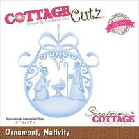 CottageCutz Elites Die - Nativity Ornament