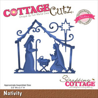 CottageCutz Elites Die - Nativity