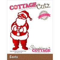 CottageCutz Elites Die - Santa