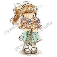 Dreamerland Crafts Cling Stamp - You're Blooming Great