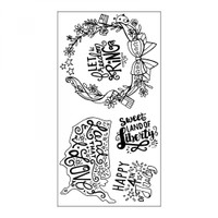 Sizzix Interchangeable Clear Stamps by Katelyn Lizardi - Land That I Love