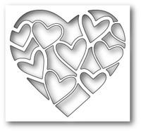 Memory Box Poppystamps Dies - Inlay Heart
