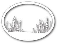 Memory Box Craft Die - Wildflower Oval Frame