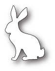 Memory Box Poppystamps Dies - Serene Rabbit