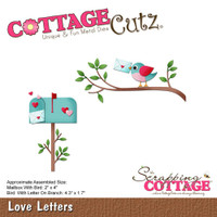 CottageCutz Die - Love Letters