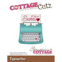 CottageCutz Die - Typewriter