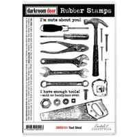 Darkroom Door Cling Stamp: Tool Shed