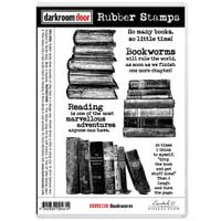 Darkroom Door Cling Stamp: Bookwarm