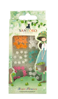 Craft Consortium  Kori Kumi by Santoro   Mini Resin Flowers 60/Pkg