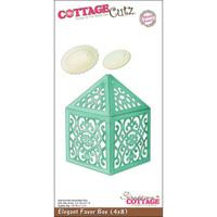 CottageCutz Die - Elegant Favor Box Made Easy