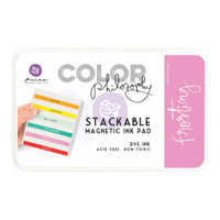 Prima, Color Philosophy Dye Inks - Frosting