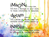 Visible Image Stamps - Imagine Dream Inspire
