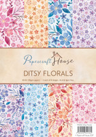 Wild Rose Studio, Papercraft House  - Ditsy FLorals