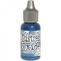 Tim Holtz Distress Oxide Reinkers by Ranger - Faded Jeans