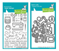 Lawn Fawn Clear Stamps & Dies Bundle - Sewn With Love
