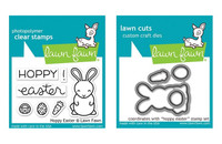 Lawn Fawn Clear Stamps & Dies Bundle - Hoppy Easter