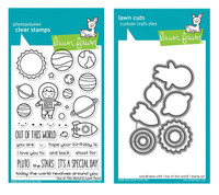 Lawn Fawn Clear Stamps & Dies Bundle - Out Of This World