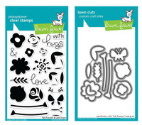Lawn Fawn Clear Stamps & Dies Bundle - Fab Flowers