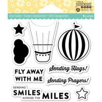 Hampton Art Jillibean Soup  Clear Stamp - Fly Away