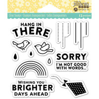 Hampton Art Jillibean Soup  Clear Stamp - Hang In There