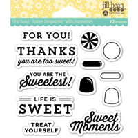 Hampton Art Jillibean Soup  Clear Stamp - Sweet Moment