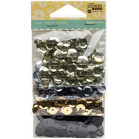 Hampton Art Jillibean Soup  Sequins 4pk - Neutrals