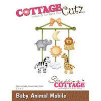 Cottagecutz Die - Baby Animal Mobile