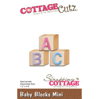 Cottagecutz Mini Die - Baby Blocks