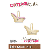 Cottagecutz Mini Die - Baby Carrier