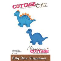 Cottagecutz Die - Baby Dino-Stegosaurus
