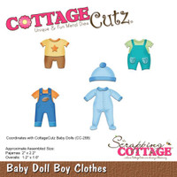 Cottagecutz Die - Baby Doll Boy Clothes