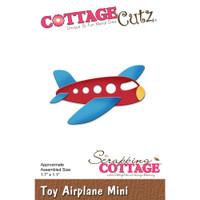 Cottagecutz Mini Die - Toy Airplane