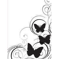 Darice A2 Embossing Folder - Butterfly