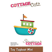 Cottagecutz Die - Toy Tugboat
