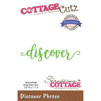 CottageCutz Expressions Plus Die - Discover