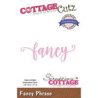 CottageCutz Expressions Plus Die - Fancy