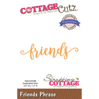 CottageCutz Expressions Plus Die - Friends