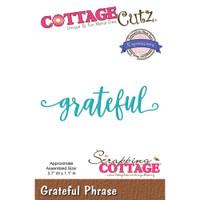 CottageCutz Expressions Plus Die - Grateful