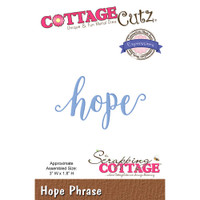 CottageCutz Expressions Plus Die - Hope