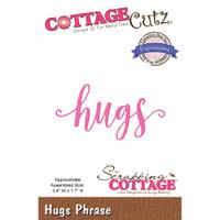 CottageCutz Expressions Plus Die - Hugs