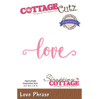 CottageCutz Expressions Plus Die - Love