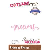 CottageCutz Expressions Plus Die - Precious