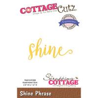 CottageCutz Expressions Plus Die - Shine