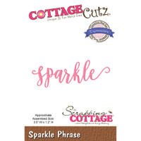 CottageCutz Expressions Plus Die - Sparkle