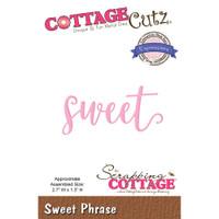 CottageCutz Expressions Plus Die - Sweet