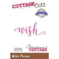CottageCutz Expressions Plus Die - Wish